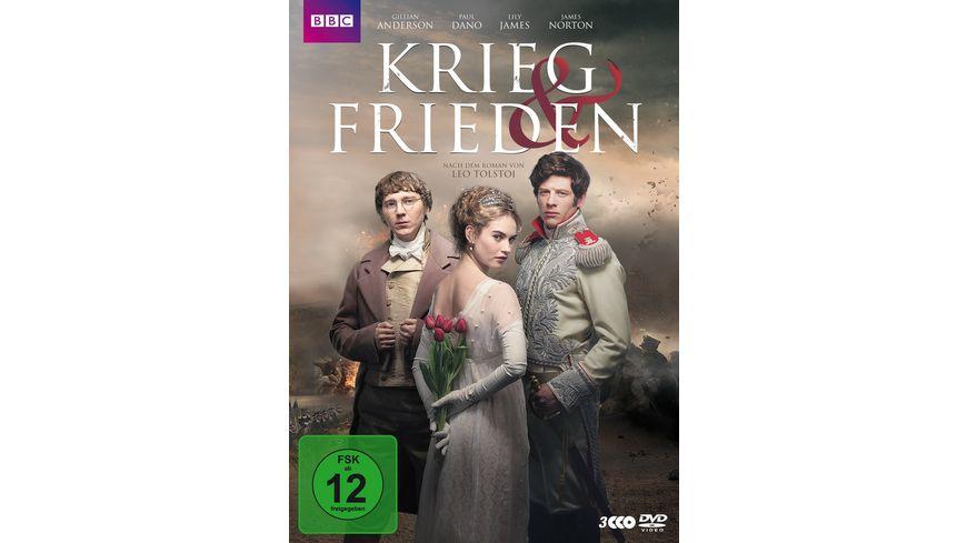 Krieg und Frieden 3 DVDs
