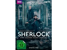 Sherlock Staffel 4 2 DVDs