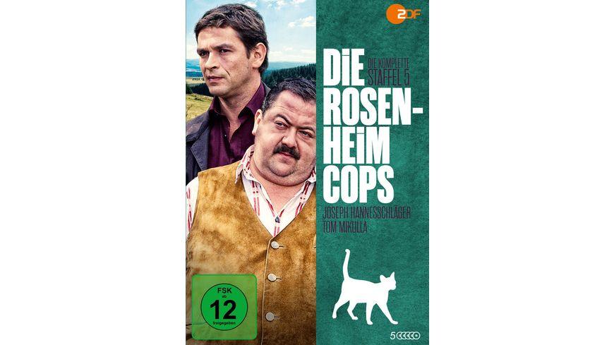 Die Rosenheim Cops Staffel 5 5 DVDs