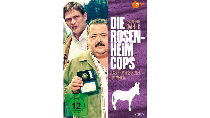Die Rosenheim Cops Staffel 6 4 DVDs