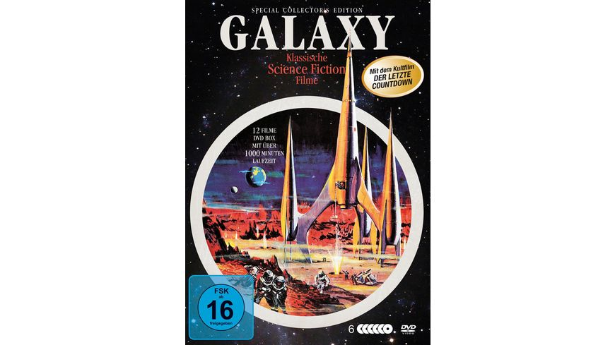 Galaxy Science Fiction Classic Deluxe BOX 6 DVDs