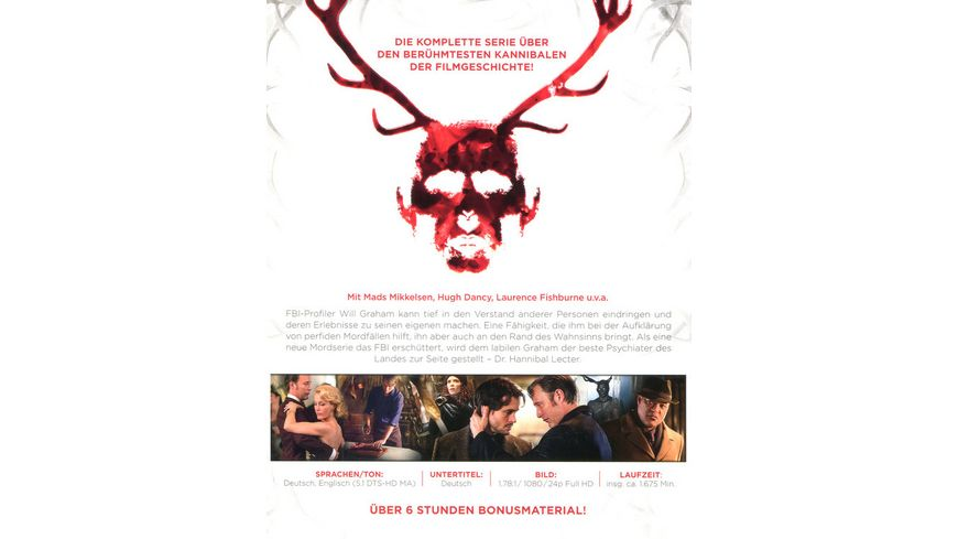 Hannibal Staffel 1 3 Gesamtedition