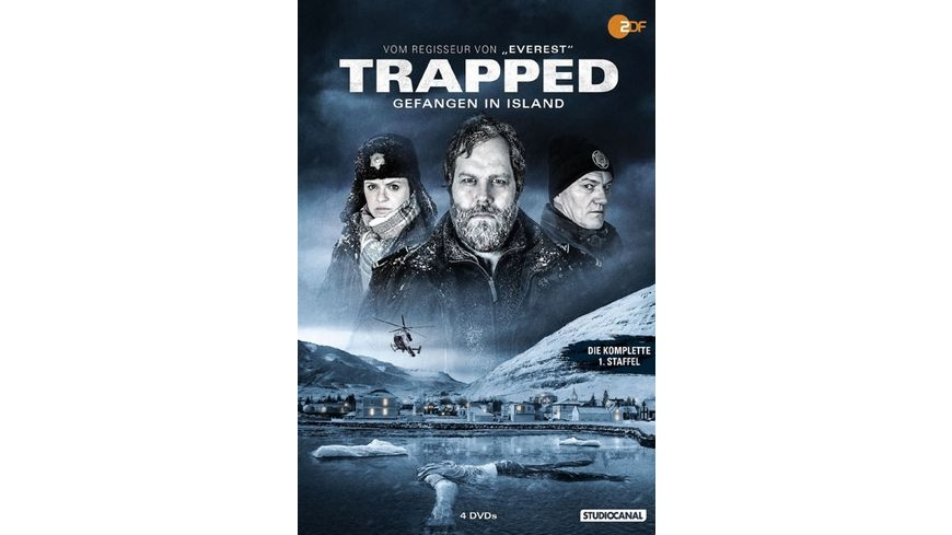 Trapped Gefangen in Island Staffel 1 4 DVDs