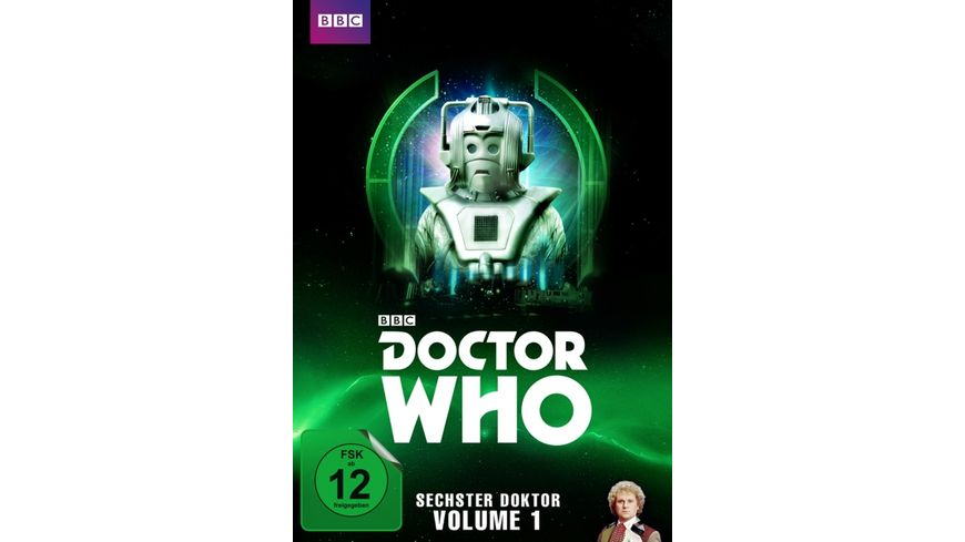 Doctor Who Sechster Doktor Vol 1 5 DVDs