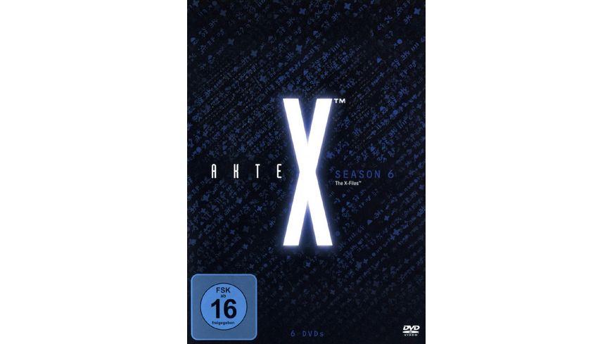Akte X Season 6 6 DVDs