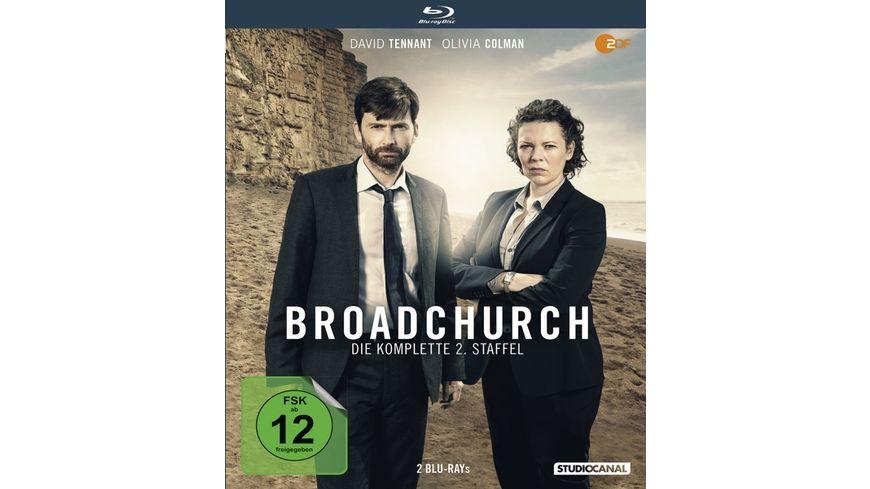 Broadchurch Die komplette 2 Staffel 2 BRs