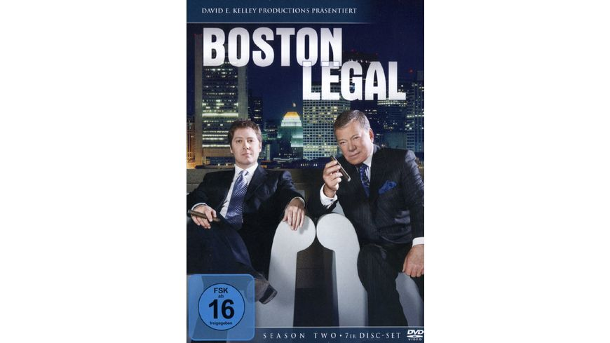 Boston Legal Season 2 7 DVDs