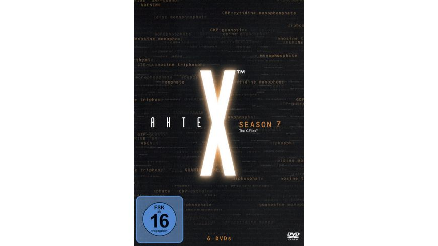 Akte X - Season 7  [6 DVDs]