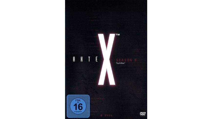 Akte X Season 8 6 DVDs