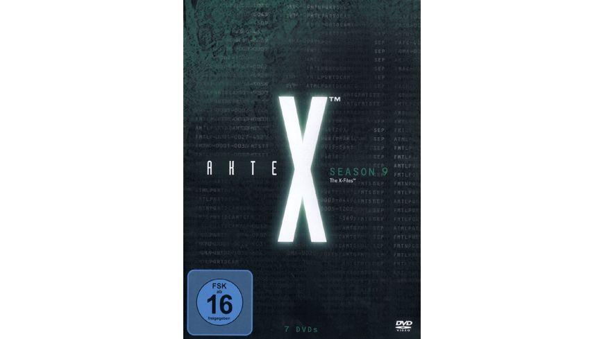 Akte X Season 9 7 DVDs