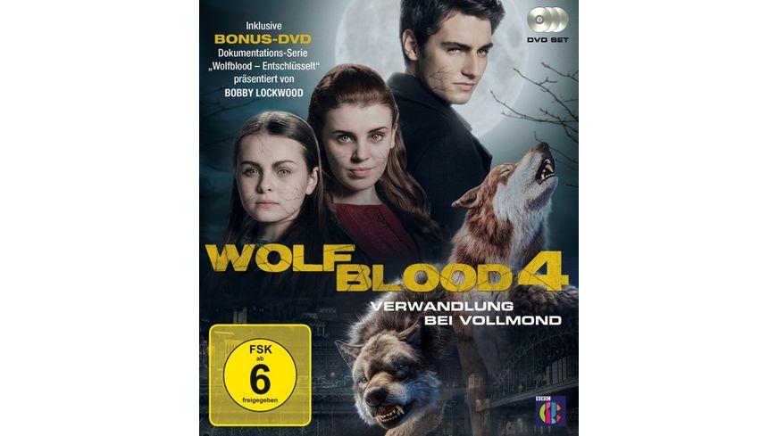 Wolfblood Verwandlung bei Vollmond Staffel 4 3 DVDs