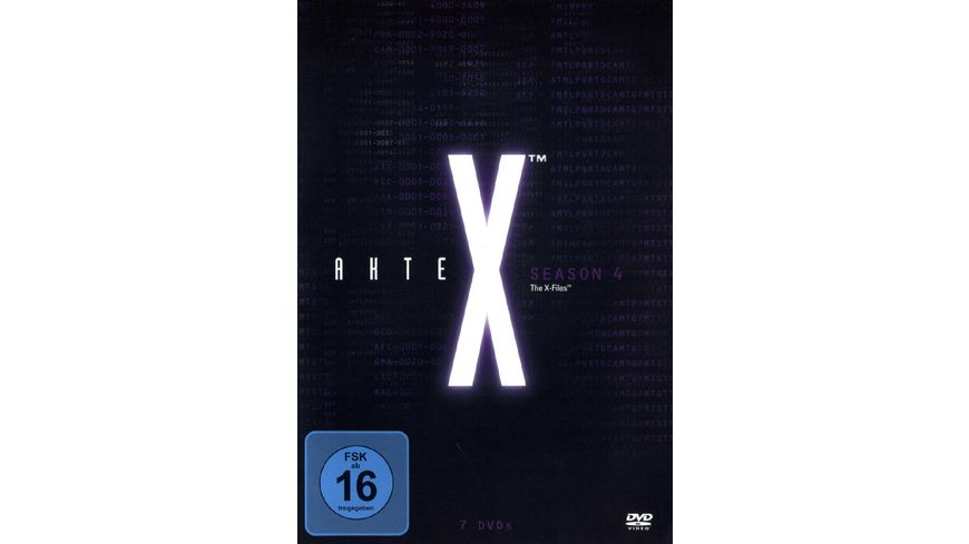 Akte X Season 4 7 DVDs