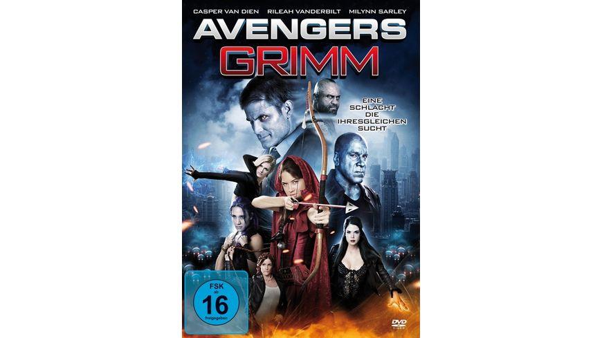 Avengers Grimm Eine Schlacht die ihresgleichen sucht