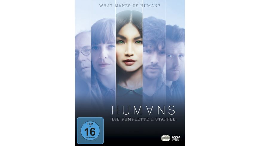 Humans Die komplette Staffel 1 3 DVDs