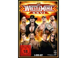 Wrestlemania 26 3 DVDs
