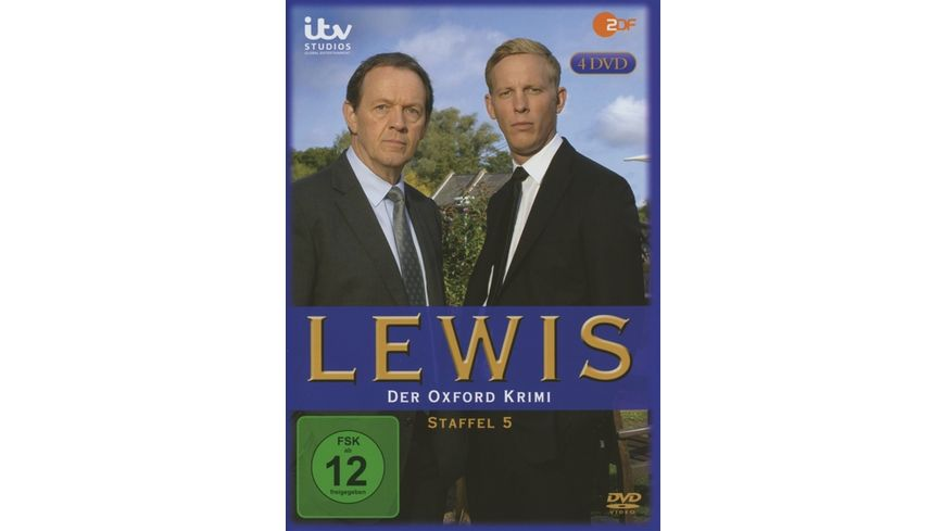 Lewis Der Oxford Krimi Staffel 5 4 DVDs