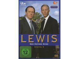 Lewis Der Oxford Krimi Staffel 5 4 DVDs