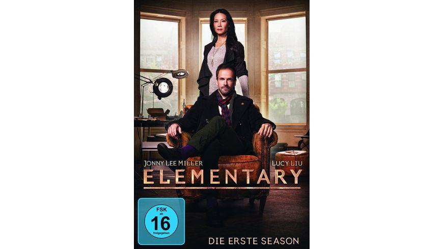 Elementary Season 1 6 DVDs