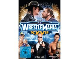 Wrestlemania 27 3 DVDs