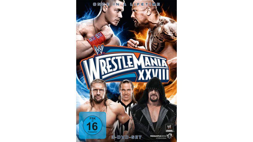 Wrestlemania 28 3 DVDs