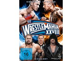 Wrestlemania 28 3 DVDs