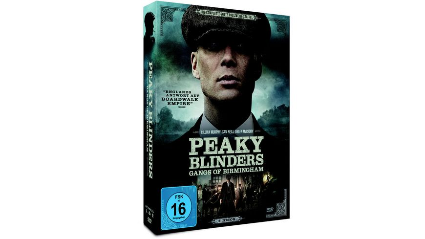 Peaky Blinders Gangs of Birmingham Staffel 1 2 6 DVDs