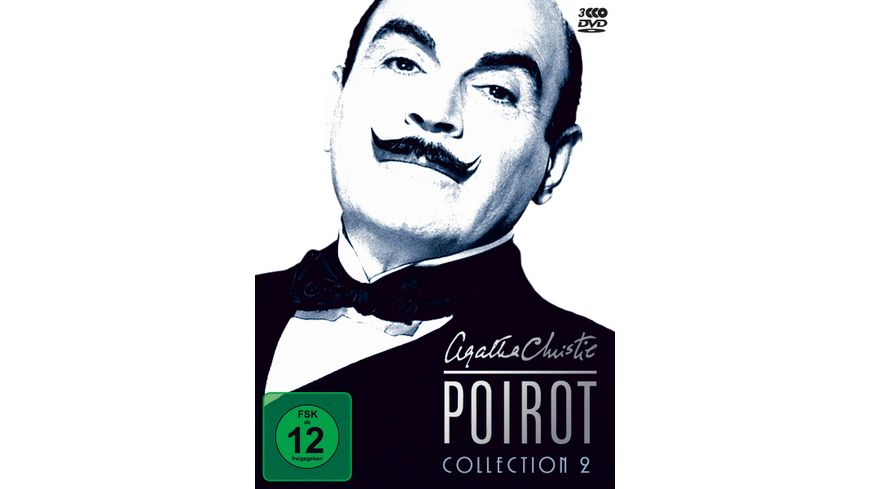 Agatha Christie Poirot Collection 2 3 DVDs