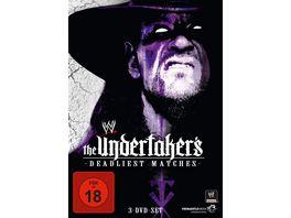 The Undertaker s Deadliest Matches 3 DVDs