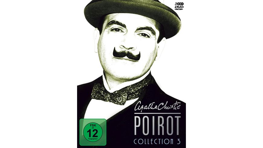 Agatha Christie Poirot Collection 3 3 DVDs
