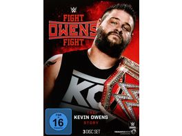Fight Owens Fight The Kevin Owens Story 3 DVDs