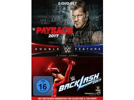 WWE Payback Backlash 2017 2 DVDs