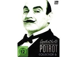 Agatha Christie Poirot Collection 6 3 DVDs