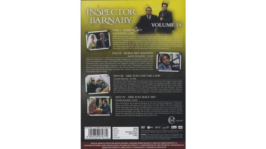 Inspector Barnaby Vol 14 4 DVDs