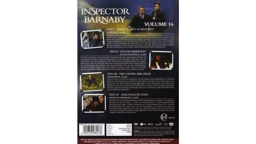 Inspector Barnaby Vol 16 4 DVDs