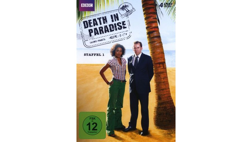 Death in Paradise Staffel 1 4 DVDs