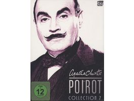 Agatha Christie Poirot Collection 7 4 DVDs