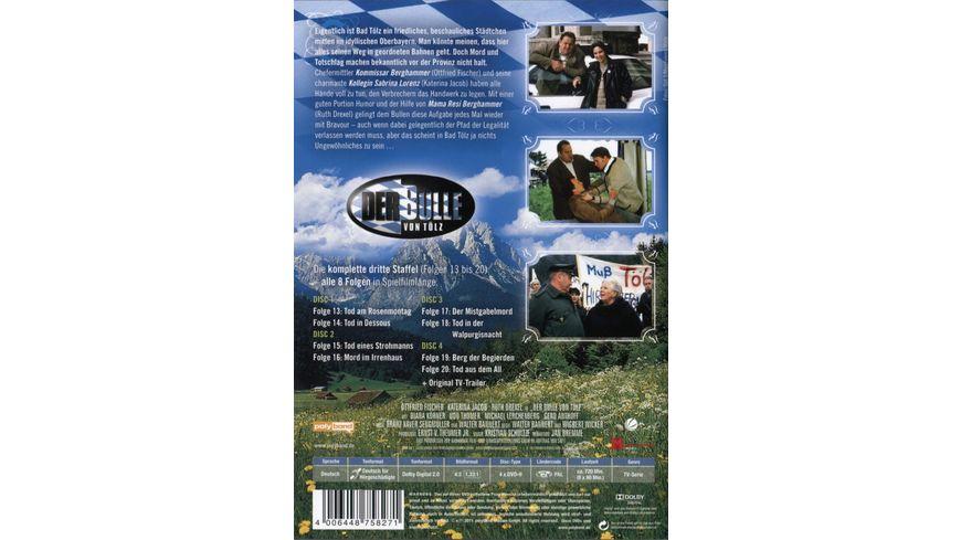 Der Bulle von Toelz Staffel 3 4 DVDs