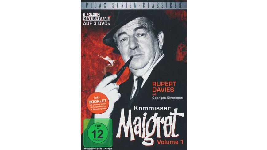 Kommissar Maigret Vol 1 3 DVDs