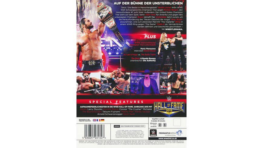 Wrestlemania 31 3 DVDs