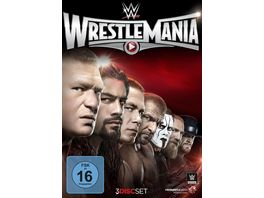 Wrestlemania 31 3 DVDs