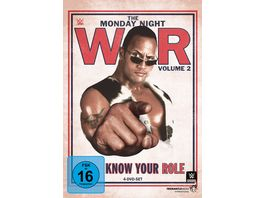 Monday Night War Vol 2 Know Your Role 4 DVDs