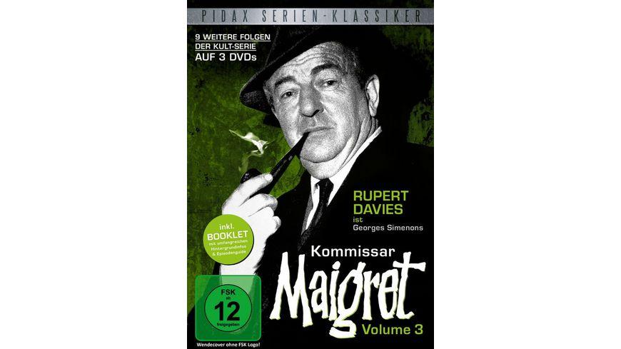 Kommissar Maigret Vol 3 3 DVDs