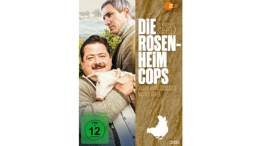 Die Rosenheim Cops Staffel 2 3 DVDs