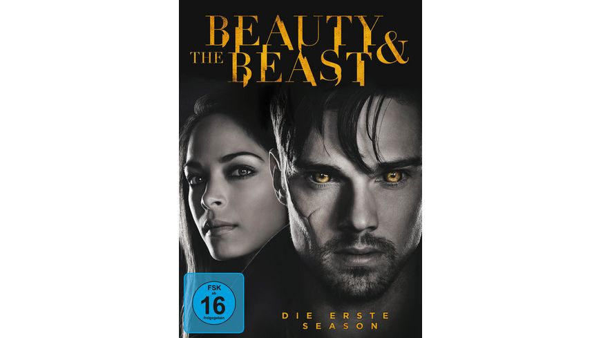 Beauty and the Beast Season 1 6 DVDs