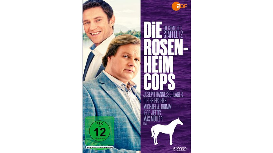 Die Rosenheim Cops Die kompl St 12 5 DVDs