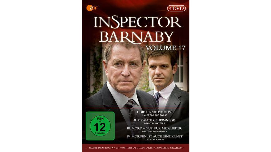 Inspector Barnaby Vol 17 4 DVDs