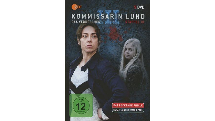 Kommissarin Lund Staffel 3 5 DVDs