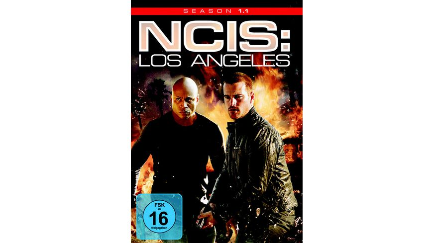 NCIS Los Angeles Season 1 1 3 DVDs
