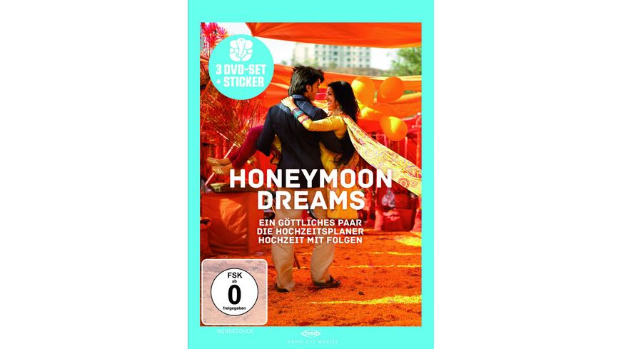 Honeymoon Dreams 3 DVDs