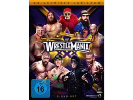Wrestlemania 30 3 DVDs